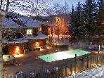 Only 113 Steps from Ski Access - Private Game Room w/ Pool Table, Air Hockey, Ping Pong, Darts, &amp; TV (3662)