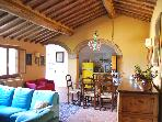 charming ancient stone house in Chianti area
