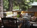 Tahoe Donner Spatious Cabin in a Pine Forest: WiFi