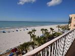 Gulf Front 3 bedroom 2 bath Sand Castle II condo - Pool, Spa, BBQ & WiFi