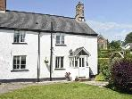 MANOR FARM COTTAGE, pet friendly, character holiday cottage, with a garden in Huish Champflower Near Wiveliscombe, Ref 4584