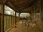 Buy 5 Nights Get 1 Free! Romantic, Private & Peaceful Log Cabin w/Fishing Pond, Pool Table & More