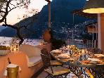 Luxury Positano Villa with AC & Private Sea Access