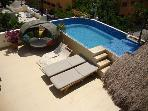 Lovely 1 bdr apt with private terrace and jacuzzi!