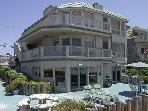 Beautiful  Ocean Front Condo with a huge ground level patio,and ocean view