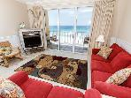 GD 505:Lovely beachfront condo-pool,WiFi,beach walkover,BBQ, FREE BCH SVC