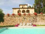 Magnificent villa in Tuscany wineyards