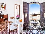 Sunny, modern flat, large windows, balconies.Palma