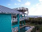 Oceanfront 2 Story Home with Private Beach & Pool