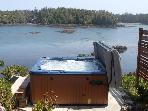 Oceanfront Cygnet Cove Suite in Ucluelet by Tofino