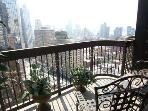 Times Square One Bedroom with Spectacular Balcony!