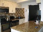 3 bedrm new renovated condo on the beach/boardwalk