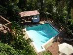 Hilltop mountain views 5 bed w/ pool in San Juan