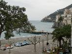 New seaview apartment in Minori, 4 km from Amalfi!
