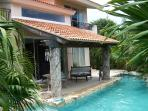Private 3 bedroom home in a lush tropical garden.