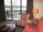 One bedroom condo on river in heart of downtown