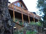 Gorgeous Log Cabin, Pikes Peak view, Family perfect