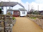 Y BWYTHYN GWYN, character holiday cottage, with a garden in Meliden, Ref 1377