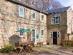 2 THE MEWS, pet friendly, character holiday cottage, with a garden in Middleton-In-Teesdale, Ref 909