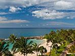 Ko Olina 6th Floor Beach View 2-BR 2-bath (B6H)