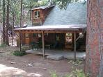 Chamlee - Charming Rustic Cabin with a large flat yard perfect for your four-legged family.