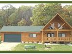 Black Bear Lodge - Quiet Country Luxury with a Fireplace and Wooded Backyard!