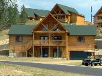 Wildlife Lodge - Spacious Luxury Lodge! 3500 sq. ft., 5 Bedrooms, Fireplace and Whirlpool Tub
