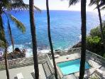 Oceanfront Value! Watch sunsets, whales from lanai