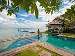 Waterfront sunset view Villa Selamanya. MAY 15%OFF