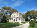 Adorable, Updated Farmhouse; Walk to Beach & Town!