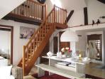 """Le Bretzel"", charming and roomy loft in the heart of Ribeauvillé"