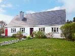 GORSE VIEW COTTAGE, detached cottage, woodburning stove, balcony with lake views near Tully, Ref 11707
