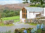 HEAVENLY VIEW, family friendly, luxury holiday cottage, with woodburner in Eskdale, Ref 13353
