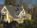 YR HEN YSGOL, pet friendly, character holiday cottage, with a garden in Prenteg, Ref 2799