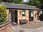 THE STABLES, romantic, country holiday cottage, with a garden in Hatton, Ref 4142