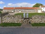 PADDOCK BARN, family friendly, country holiday cottage, with a garden in Ingleton, County Durham, Ref 4213