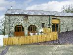 THE STABLES, romantic, luxury holiday cottage, with hot tub in Llandysul, Ref 4514