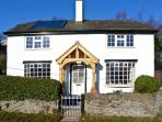 THE LAURELS, family friendly, character holiday cottage, with open fire in Llansilin, Ref 5437