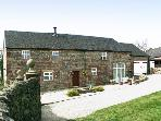 MEADOW PLACE, pet friendly, character holiday cottage, with a garden in Ipstones, Ref 767