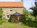 THE GRANARY, pet friendly, character holiday cottage, with a garden in Lanchester, Ref 892