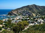Tranquil resort nestled in the foothills of Catalina Island with views to the ocean