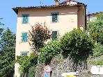 2 bedrooms in historic Spa town Bagni di Lucca