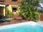 Quaint Villa, Panoramic View, Pool, St Lucia