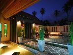 Tropical Villa with Pool, 150 mtrs to beach