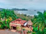 Dominical Ocean View Walk-to-beach Vacation Villa