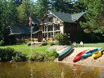 Camp Wildlife - Luxury Waterfront home on Mirror Lake