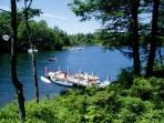 Lake Winnipesaukee Waterfront Vacation Rental on Black Cat Island (POU178W)