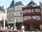 Beautiful 1-bed apartment in medieval Dinan