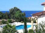 Spacious seaside villa & pool in unspoiled Kayalar