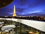 ***STUNNING VIEW of Eiffel Tower*** 2 Bedrooms, 7th*** Avenue Rapp ***